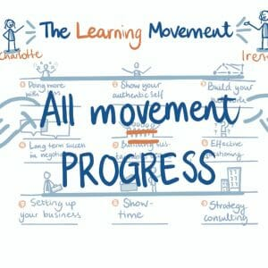 Still uit visuele pitch van The Learning Movement