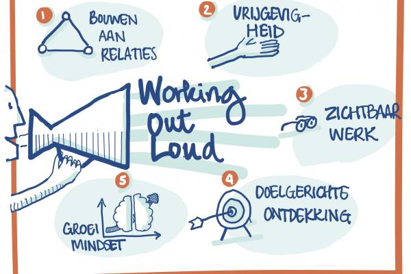 5 principes van Working out loud